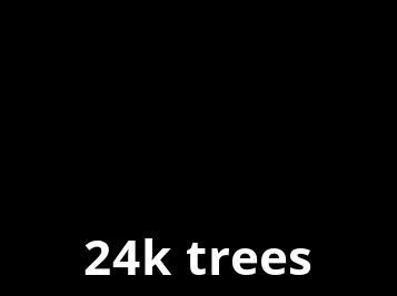 Nous plantons des arbres avec Ecologi