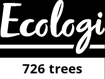 We plant trees with Ecologi
